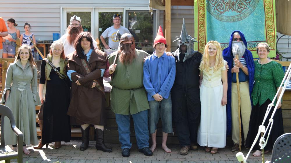 Hobbit-Party